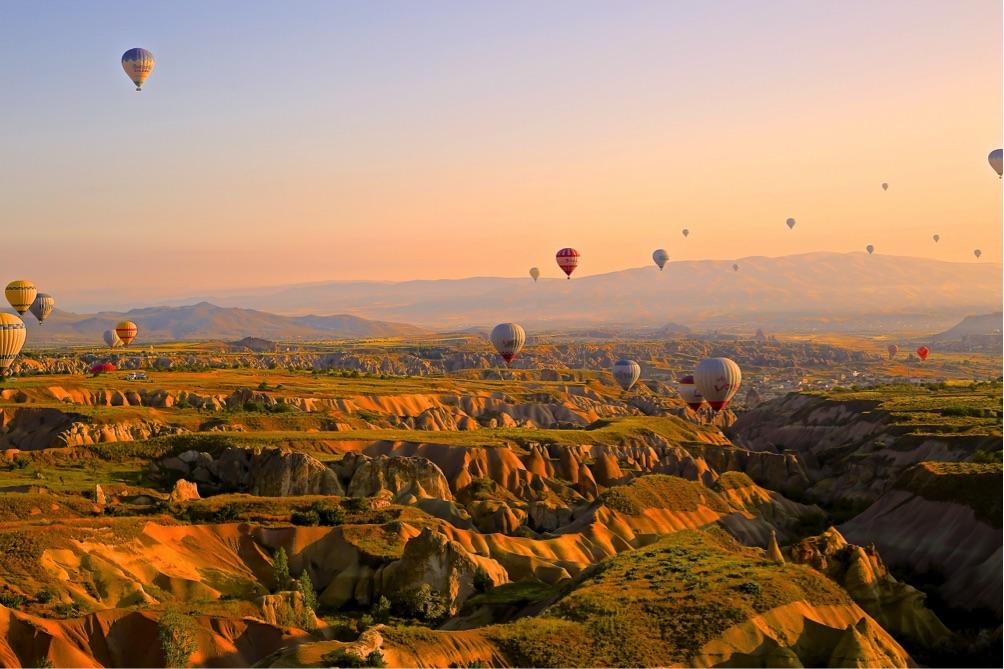 Heißluftballons